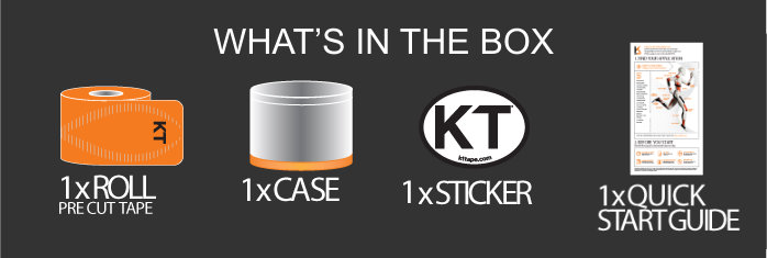 KT Tape Pro - What's in the Box